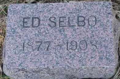 SELBO, ED - Yankton County, South Dakota | ED SELBO - South Dakota Gravestone Photos