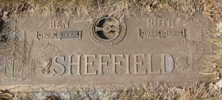 SHEFFIELD, RUTH - Yankton County, South Dakota | RUTH SHEFFIELD - South Dakota Gravestone Photos