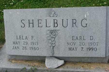 SHELBURG, LELA F. - Yankton County, South Dakota | LELA F. SHELBURG - South Dakota Gravestone Photos