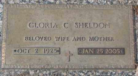 SHELDON, GLORIA C. - Yankton County, South Dakota   GLORIA C. SHELDON - South Dakota Gravestone Photos