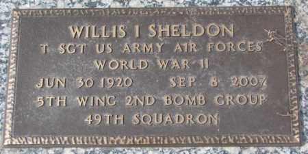 SHELDON, WILLIS I. - Yankton County, South Dakota | WILLIS I. SHELDON - South Dakota Gravestone Photos