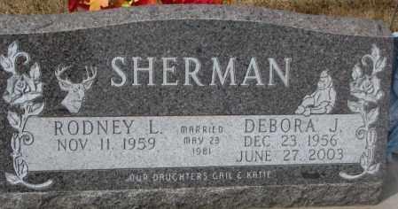 SHERMAN, DEBORA J. - Yankton County, South Dakota | DEBORA J. SHERMAN - South Dakota Gravestone Photos