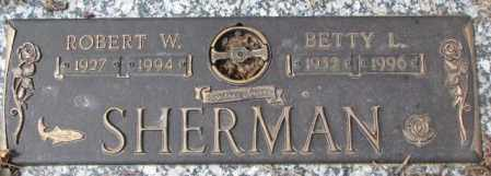 SHERMAN, BETTY L. - Yankton County, South Dakota | BETTY L. SHERMAN - South Dakota Gravestone Photos