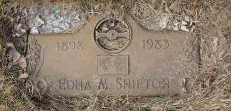 SHIPTON, EDNA M. - Yankton County, South Dakota | EDNA M. SHIPTON - South Dakota Gravestone Photos