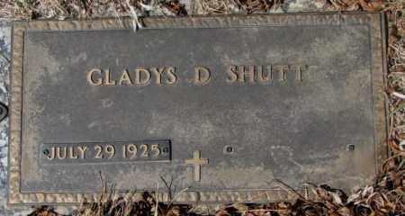 SHUTT, GLADYS D. - Yankton County, South Dakota   GLADYS D. SHUTT - South Dakota Gravestone Photos