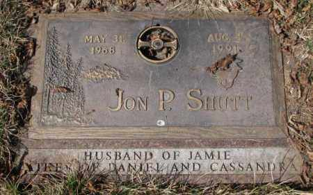 SHUTT, JON P. - Yankton County, South Dakota | JON P. SHUTT - South Dakota Gravestone Photos