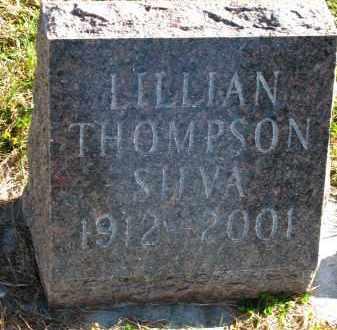 THOMPSON SILVA, LILLIAN - Yankton County, South Dakota | LILLIAN THOMPSON SILVA - South Dakota Gravestone Photos