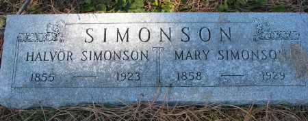 SIMONSON, HALVOR - Yankton County, South Dakota   HALVOR SIMONSON - South Dakota Gravestone Photos