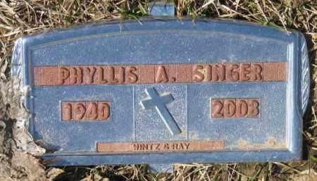 SINGER, PHYLLIS A. - Yankton County, South Dakota   PHYLLIS A. SINGER - South Dakota Gravestone Photos