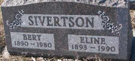 SIVERTSON, ELINE - Yankton County, South Dakota | ELINE SIVERTSON - South Dakota Gravestone Photos