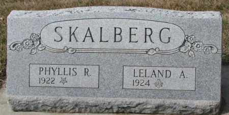 SKALBERG, PHYLLIS R. - Yankton County, South Dakota | PHYLLIS R. SKALBERG - South Dakota Gravestone Photos