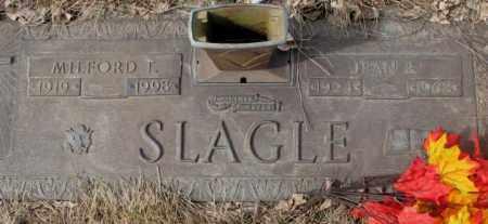 SLAGLE, JEAN E. - Yankton County, South Dakota | JEAN E. SLAGLE - South Dakota Gravestone Photos