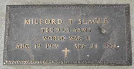 SLAGLE, MILFORD T. (WW II) - Yankton County, South Dakota | MILFORD T. (WW II) SLAGLE - South Dakota Gravestone Photos