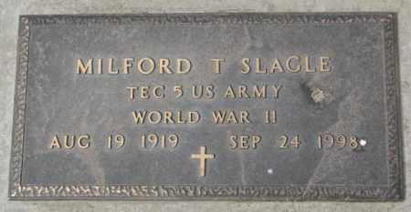 SLAGLE, MILFORD T. (WW II) - Yankton County, South Dakota | MILFORD T. (WW II) SLAGLE - South Dakota Gravestone Photos