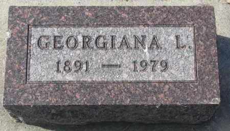 SLAUGHTER, GEORGIANA L. - Yankton County, South Dakota | GEORGIANA L. SLAUGHTER - South Dakota Gravestone Photos