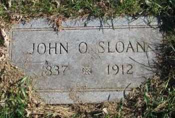 SLOAN, JOHN O. - Yankton County, South Dakota | JOHN O. SLOAN - South Dakota Gravestone Photos
