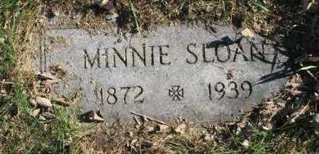 SLOAN, MINNIE - Yankton County, South Dakota | MINNIE SLOAN - South Dakota Gravestone Photos