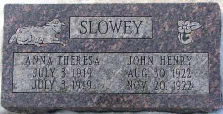SLOWEY, ANNA THERESA - Yankton County, South Dakota | ANNA THERESA SLOWEY - South Dakota Gravestone Photos