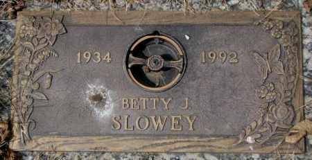 SLOWEY, BETTY J. - Yankton County, South Dakota   BETTY J. SLOWEY - South Dakota Gravestone Photos