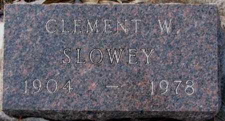 SLOWEY, CLEMENT W. - Yankton County, South Dakota | CLEMENT W. SLOWEY - South Dakota Gravestone Photos
