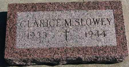 SLOWEY, CLARICE M. - Yankton County, South Dakota   CLARICE M. SLOWEY - South Dakota Gravestone Photos