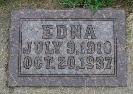SLOWEY, EDNA - Yankton County, South Dakota | EDNA SLOWEY - South Dakota Gravestone Photos