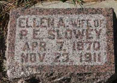 SLOWEY, ELLENA - Yankton County, South Dakota | ELLENA SLOWEY - South Dakota Gravestone Photos