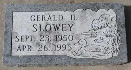 SLOWEY, GERALD D. - Yankton County, South Dakota | GERALD D. SLOWEY - South Dakota Gravestone Photos