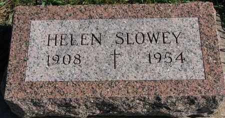 SLOWEY, HELEN - Yankton County, South Dakota | HELEN SLOWEY - South Dakota Gravestone Photos