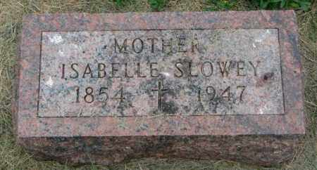 SLOWEY, ISABELLE - Yankton County, South Dakota | ISABELLE SLOWEY - South Dakota Gravestone Photos