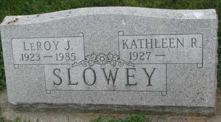 SLOWEY, LEROY J. - Yankton County, South Dakota   LEROY J. SLOWEY - South Dakota Gravestone Photos