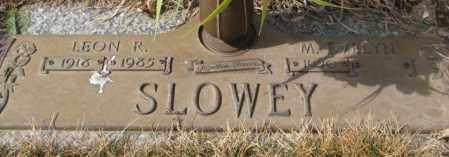 SLOWEY, M. EVELYN - Yankton County, South Dakota | M. EVELYN SLOWEY - South Dakota Gravestone Photos