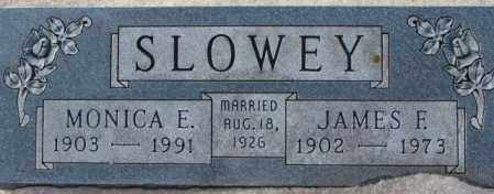 SLOWEY, JAMES F. - Yankton County, South Dakota | JAMES F. SLOWEY - South Dakota Gravestone Photos