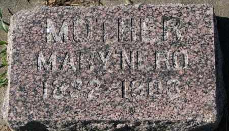 SLOWEY, MARY - Yankton County, South Dakota | MARY SLOWEY - South Dakota Gravestone Photos