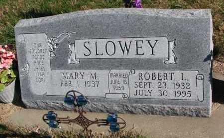SLOWEY, ROBERT L. - Yankton County, South Dakota | ROBERT L. SLOWEY - South Dakota Gravestone Photos