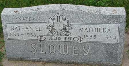 "SLOWEY, NATHANIEL ""NATE"" - Yankton County, South Dakota | NATHANIEL ""NATE"" SLOWEY - South Dakota Gravestone Photos"