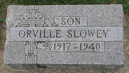SLOWEY, ORVILLE - Yankton County, South Dakota | ORVILLE SLOWEY - South Dakota Gravestone Photos