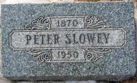 SLOWEY, PETER - Yankton County, South Dakota | PETER SLOWEY - South Dakota Gravestone Photos