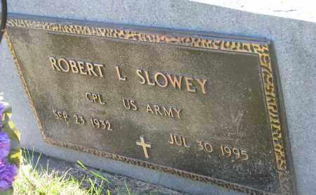 SLOWEY, ROBERT L. (MILITARY) - Yankton County, South Dakota | ROBERT L. (MILITARY) SLOWEY - South Dakota Gravestone Photos