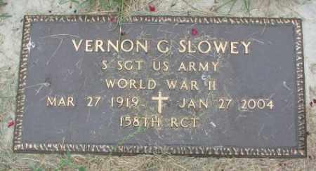 SLOWEY, VERNON G. (WW II) - Yankton County, South Dakota | VERNON G. (WW II) SLOWEY - South Dakota Gravestone Photos