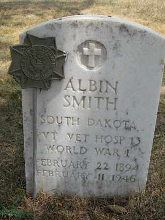 SMITH, ALBIN - Yankton County, South Dakota | ALBIN SMITH - South Dakota Gravestone Photos