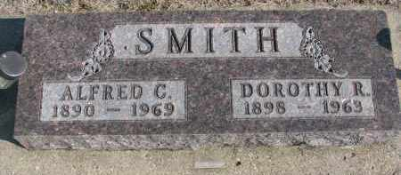 SMITH, ALFRED C. - Yankton County, South Dakota | ALFRED C. SMITH - South Dakota Gravestone Photos