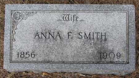 SMITH, ANNA F. - Yankton County, South Dakota | ANNA F. SMITH - South Dakota Gravestone Photos