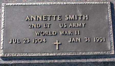 SMITH, ANNETTE - Yankton County, South Dakota | ANNETTE SMITH - South Dakota Gravestone Photos