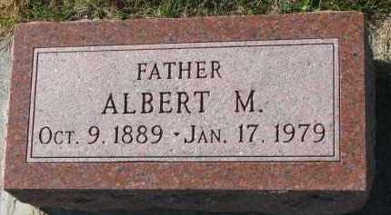 SMITH, ALBERT M. - Yankton County, South Dakota | ALBERT M. SMITH - South Dakota Gravestone Photos