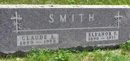SMITH, CLAUDE A. - Yankton County, South Dakota   CLAUDE A. SMITH - South Dakota Gravestone Photos