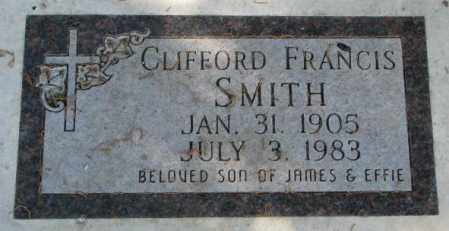 SMITH, CLIFFORD FRANCIS - Yankton County, South Dakota | CLIFFORD FRANCIS SMITH - South Dakota Gravestone Photos