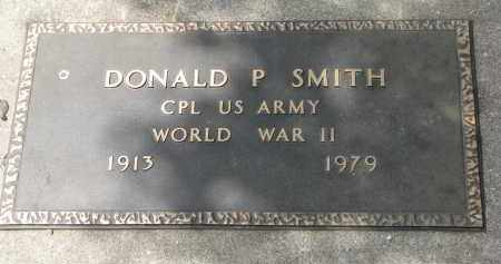 SMITH, DONALD P. (WW II) - Yankton County, South Dakota | DONALD P. (WW II) SMITH - South Dakota Gravestone Photos