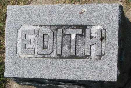 SMITH, EDITH - Yankton County, South Dakota | EDITH SMITH - South Dakota Gravestone Photos
