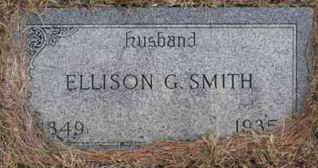 SMITH, ELLISON G. - Yankton County, South Dakota | ELLISON G. SMITH - South Dakota Gravestone Photos